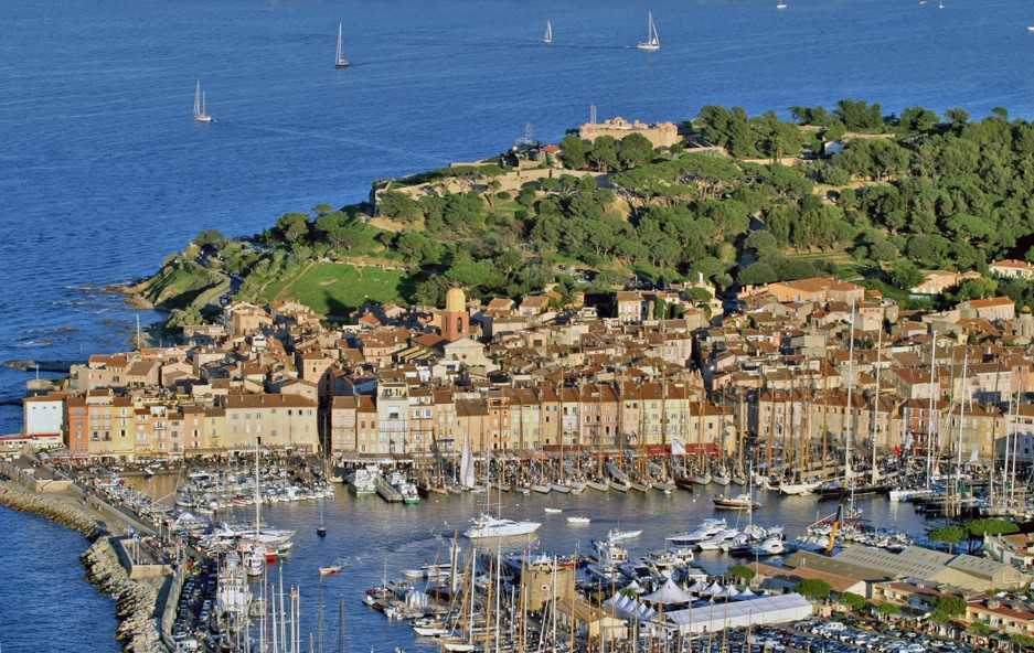 Saint-Tropezfrom the air
